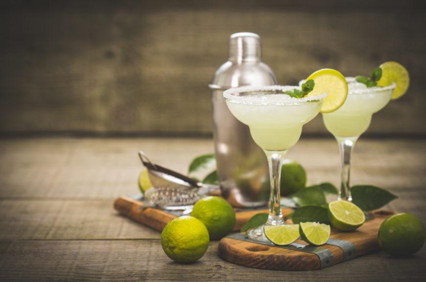 Margaritas for national margarita day.