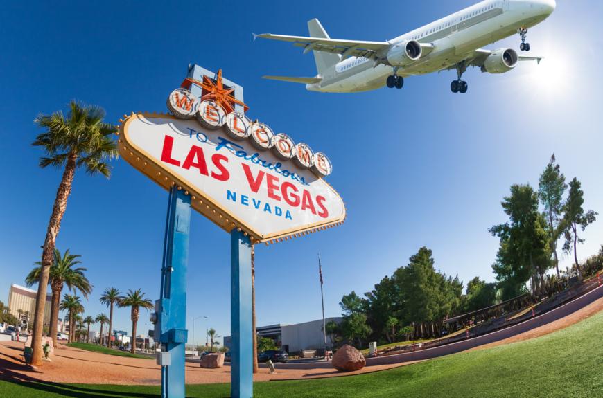 Las Vegas golf course.